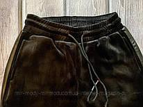 Женские велюровые штаны на меху размер L, XL, XXL,52(мил-нис 220)
