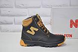 Зимові підліткові високі шкіряні черевики в стилі New Balance, фото 9