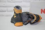 Зимові підліткові високі шкіряні черевики в стилі New Balance, фото 10