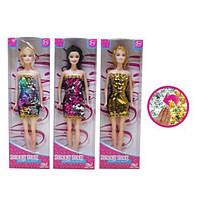 Лялька 25см,сукні,у кор-ці,10,5х32,5х5см №6004EF-13(72)