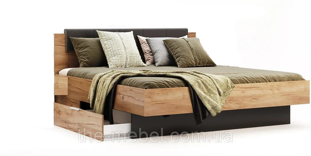 Кровать 180х200 с ящиками без каркаса Луна ТМ Миромарк