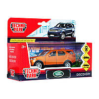 Машинка Land Rover Discovery золотий