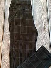 Женские брюки на байке больших размеров 50,52, 54 ,56 (ми-ди 190)