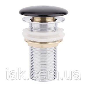 Донный клапан для раковины Qtap F009 BLA Pop-up