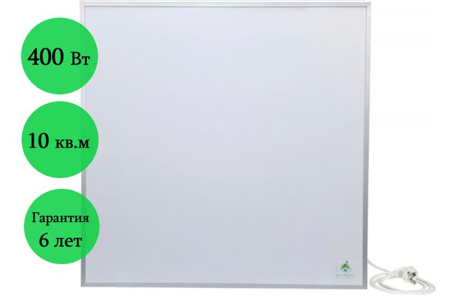 Инфракрасный керамический обогреватель ECOTEPLO AIR ME 400 Вт (белый), фото 2