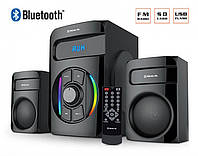 Акустика REAL-EL M-375 BT черная Bluetooth 2.1 44Вт