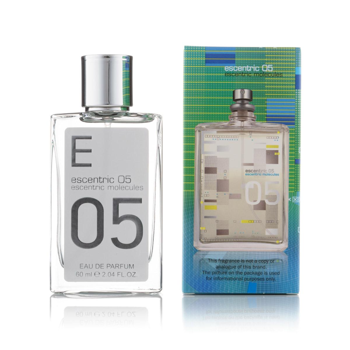 Мини парфюм Escentric Molecules Escentric 05 (унисекс)  - 60 мл (зеленый)