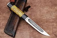 """Нож ручной работы """"Якут"""" из австрийской нержавеющей стали n690"""