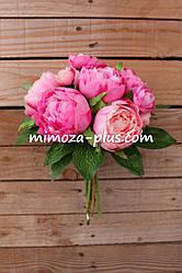 Искусственные цветы - Пион пучок, 30 см