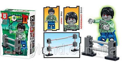 Зомби фигурки, детский конструктор, фото 3
