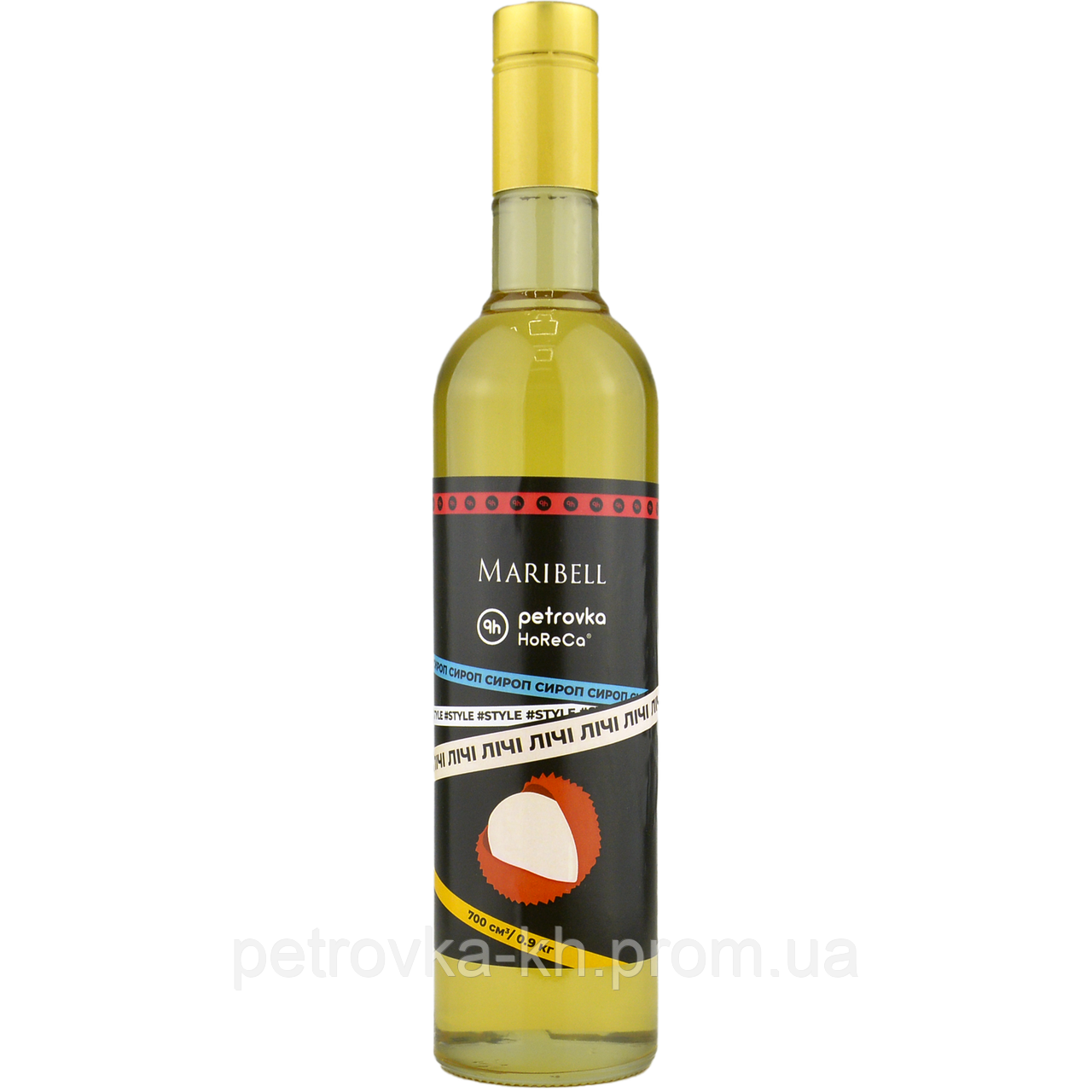 Сироп 'Личи' для коктейлей Maribell-Petrovka Horeca 700мл
