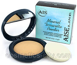 Пудра для лица Mineral Terracotta Aise Line TP1401 (без индивидуальной упаковки)