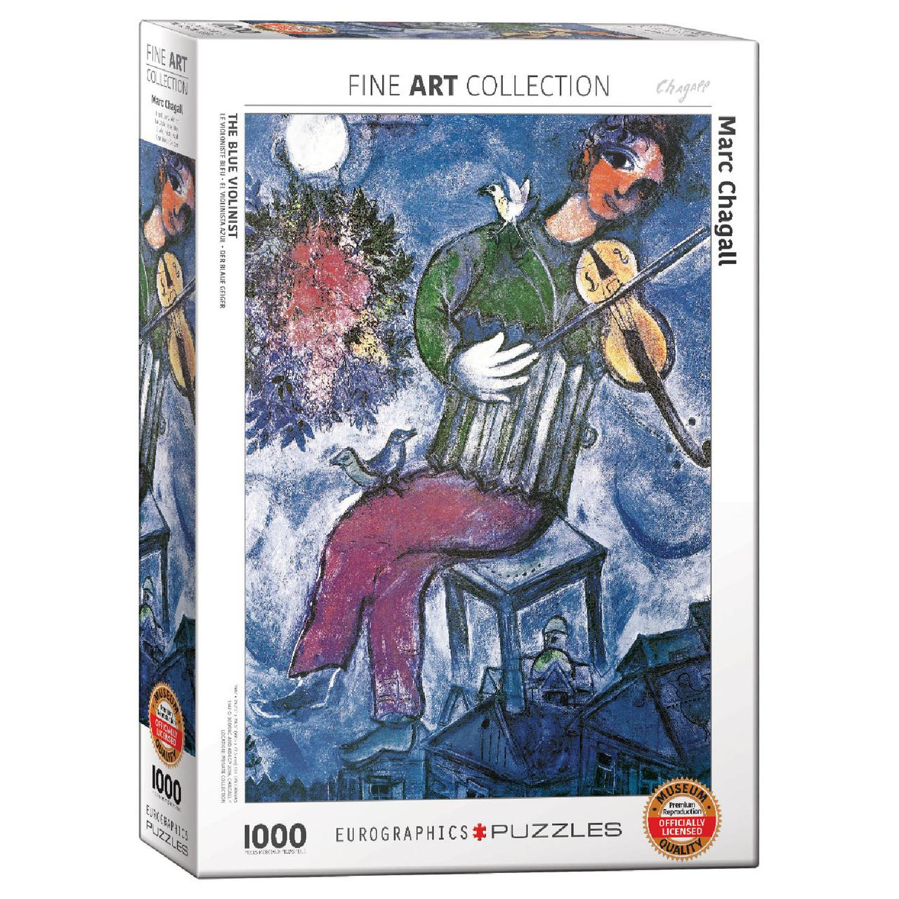 Пазл Eurographics Париж через окно. Марк Шагал, 1000 элементов
