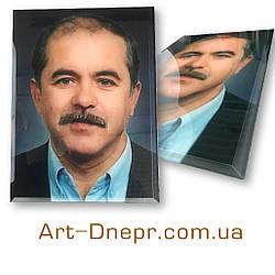 Цветной портрет на стекле 500х1200мм