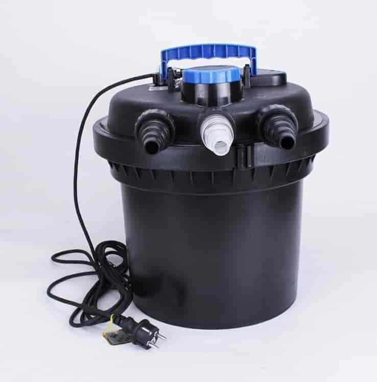 Фільтр зовнішній SunSun HW-3000 з УФ-лампою UV 9W, 3000 л/год