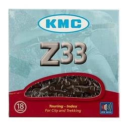Ланцюг KMC Z33 для 5/6 швидкісних трансмісій гірського велосипеда Чорна