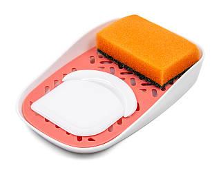 Органайзер для моющих средств Krita mini цвет коралл