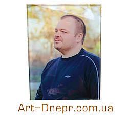 Цветной портрет на стекле 600х1200мм