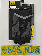 Рукавички для кроссфита, WorkOut Under Armour (чорний-сірий)