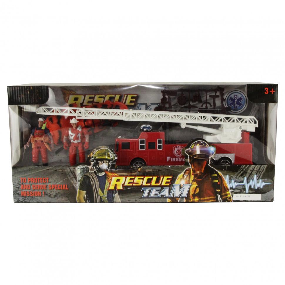 Игровой набор спасателей F119-34 Пожарная машина
