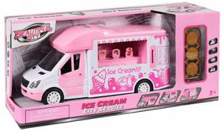Машина городские службы с Мороженым