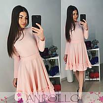 Платье расклешенное с рюшей, фото 3