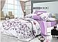 Двуспальные комплекты постельного белья «Фиолетовая нежность» 177х217 см из сатина, фото 3