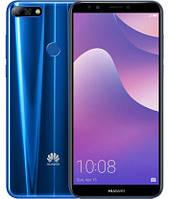 "Смартфон Huawei Y7 Prime 2018 3/32Gb Blue, 13+2/8Мп, 5.99"" IPS, 2sim, 4G, 3000мАh, Snapdragon 430, 8 ядер, фото 1"