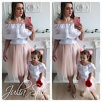 Однакові святкові костюми мама і донька, фото 2