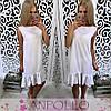 Сукня сарафан літній вільний під пояс, фото 4