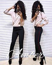 Комбінезон GG з брюками на талії резинка, фото 3