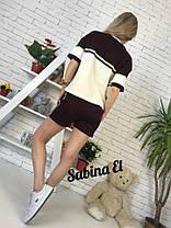 Костюм летний шорты и футболка с полосой , фото 3