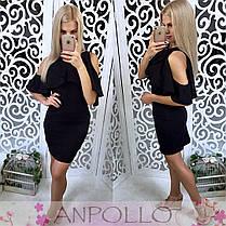 Красивое нарядное платье мини, фото 2