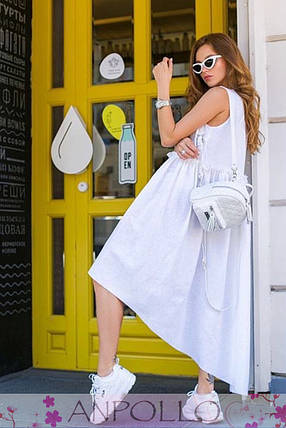 Платье сарафан очень свободное сзади длиннее, фото 2