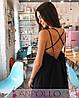 Сукня сарафан на бретельках з відкритою спиною, фото 4