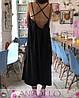 Сукня сарафан на бретельках з відкритою спиною, фото 5