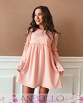 Платье свободное с широким рукавом шифон, фото 3