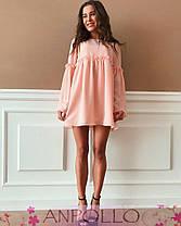 Платье свободное с широким рукавом шифон, фото 2