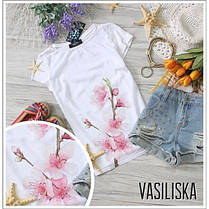 Модные футболки с рисунками на лето черная и белая, фото 3