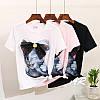 Костюм джинсы и футболкой котик с бантом, фото 3