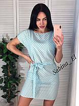 Воздушный летний легкий платье сарафан софт, фото 3