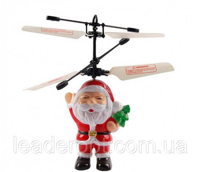 ОПТ Летающая игрушка Flying Santa летающий Дед Мороз