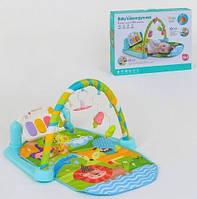 Детский развивающий игровой коврик, музыкальный, 70*46 см, 9921