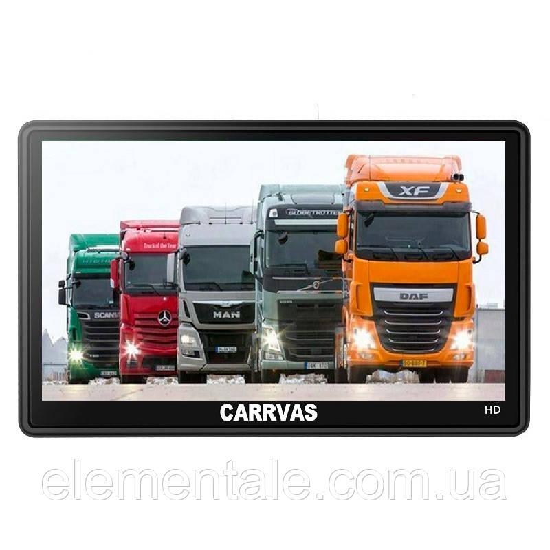 Gps навигатор Carrvas 7 Pro Europe для грузовиков и легковых авто