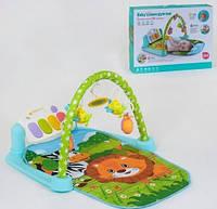 Детский развивающий игровой коврик, музыкальный, 72*44 см, 9911