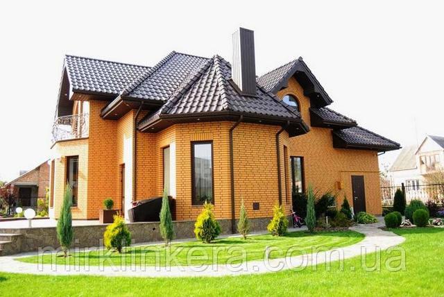 дом из кирпича Евротона