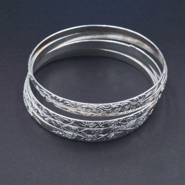 Уцінка Основа під браслет 5 шт сріблястий метал