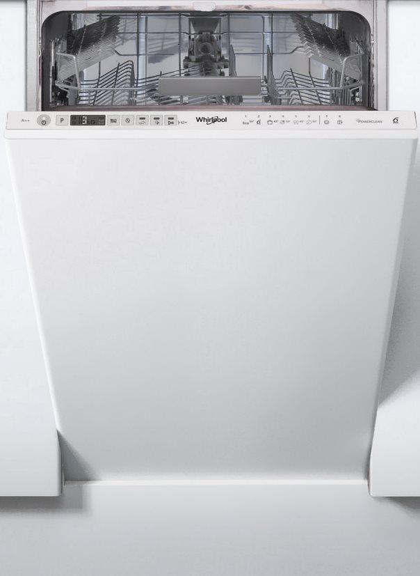 Посудомоечная машина Whirlpool WSIO3T1256PEX [45см]