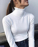 Женский свитер, гольф-водолазка, кофта S-L, фото 1