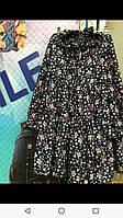 Плаття для дівчинки 8-12 років синього кольору оптом
